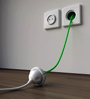 Canister vacuum cleaner - Power cord