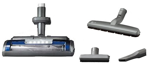 Vacuum Cleaner - LG - Kompressor LcV900B - Accessories